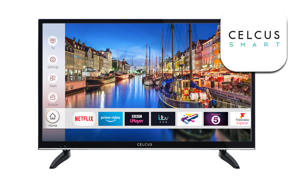 32 inch HD Ready DLED Smart TV