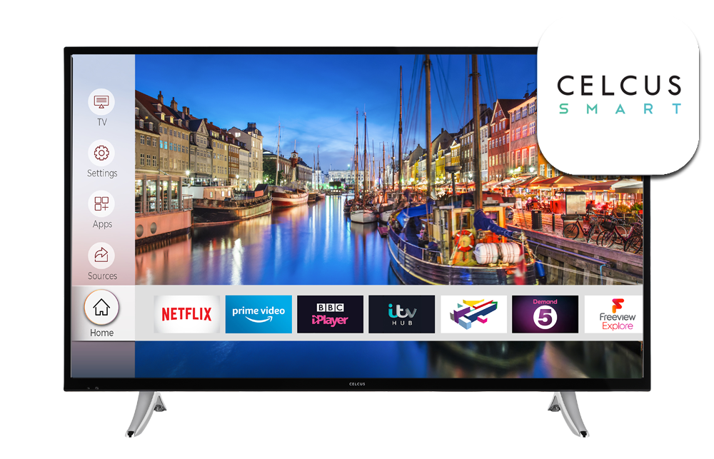 43 inch Full HD DLED Smart TV